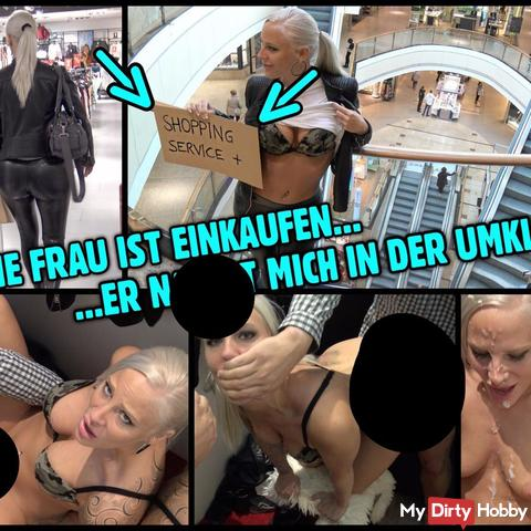 fi** Service im Shopping Center | PUBL!C in der Umkleide geknallt