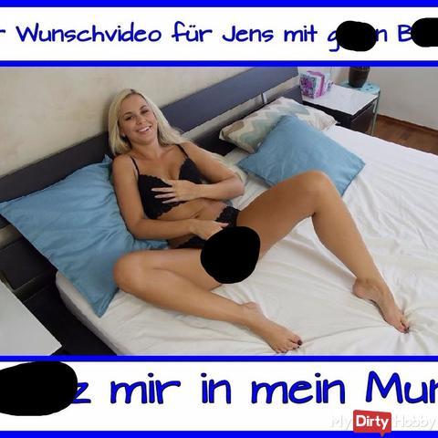 User Wunsch Video für Jens