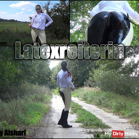 Latexreiterin
