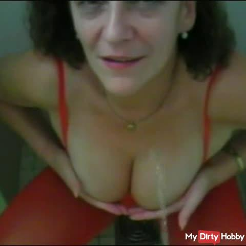 PISS on my tits!