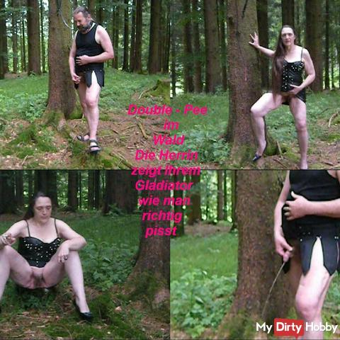 Double - Pee in the wood