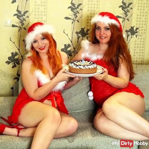 Santa (Step) Sisters - Now it gets wild!
