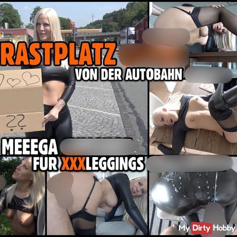 RASTPLATZ BITCH zerfi**t | MEGA Cum***t für prallen Leggings str*ps ars**