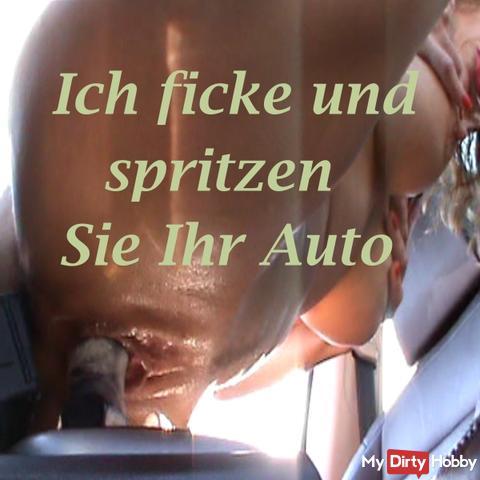 Ich ficke und spritzen Sie Ihr Auto