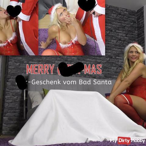 Merry (SE)X-MAS! fi**-Geschenk vom Bad Santa