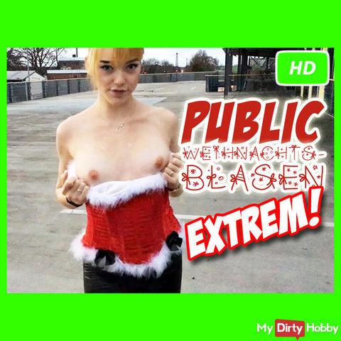 Public Weihnachtsblasen EXTREM !!!