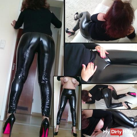 Latex noise in the office !! Boss why they bother my Cameltoe ??