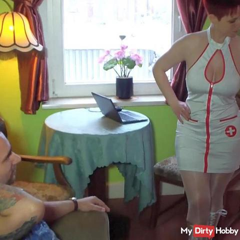 3 schwä**e für die Krankenschwester in der (fi**) Klinik... (Teil 1)