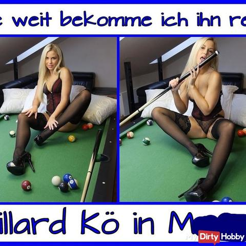 Versautes Billiard Spiel…