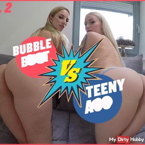 BUBBLE BUTT  VS  TEENY ASS    |  DER ULTIMATIVE fi**VERGELICH!    TEIL 2