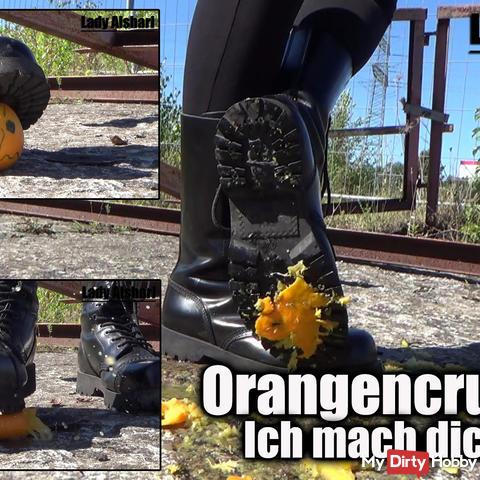 Orangencrushing - Meine Springer machen dich platt