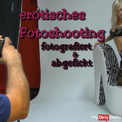 Erotic photo shoot - photographed and Fucked!