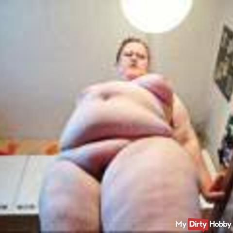 Fat .. fat .. fat ... fetish and Dirty Talk