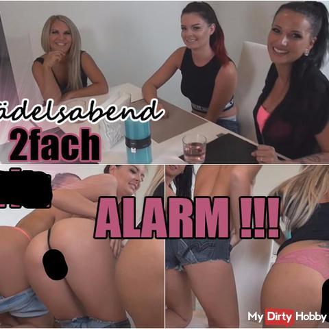 Mädelsabend - 2fach spri** Alarm!!! (Teil1)
