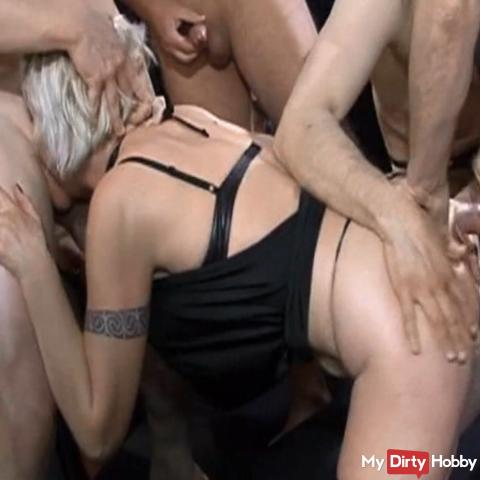 extremely deeply blown and fucked