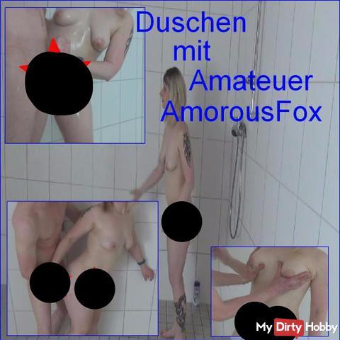 Duschen mit Amateuer (AmorousFox)