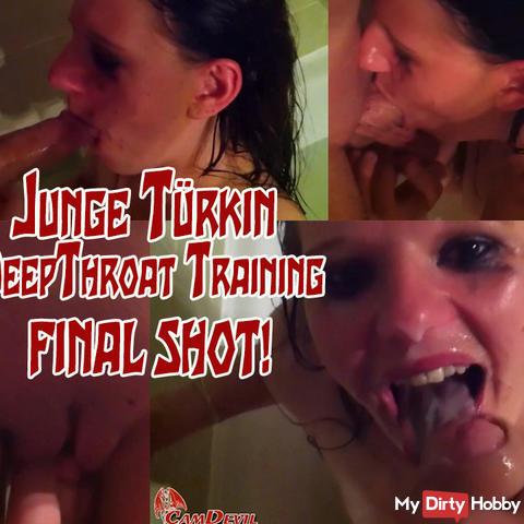 Young Turk Deep Throat Training - Final Shot