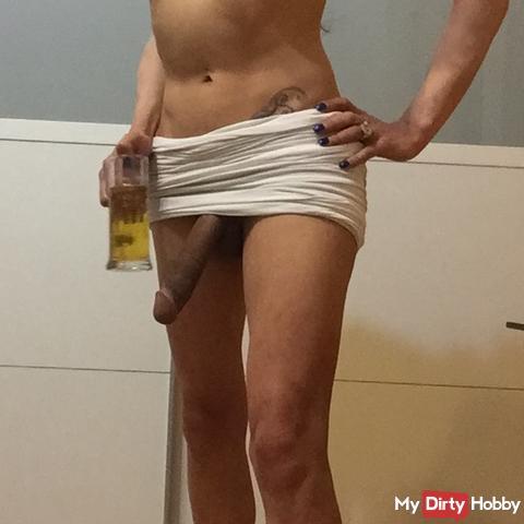 TS XXL-ANGEL23X6 Drink my pee you slave!
