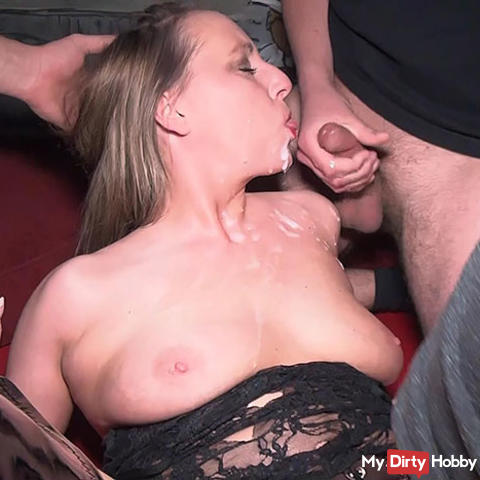 Spermageil im Sexclub