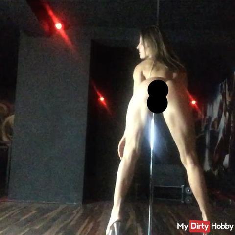 sensual pole dance