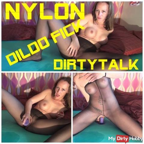 NYLON Dildo FICK mit DIRTYTALK