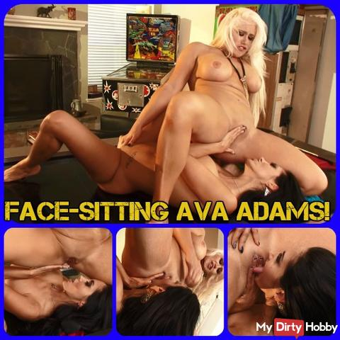 Face Sitting Ava Adams!