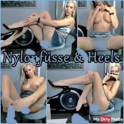 Nylonfüsse & Heels - Lustvolle Fußerotik