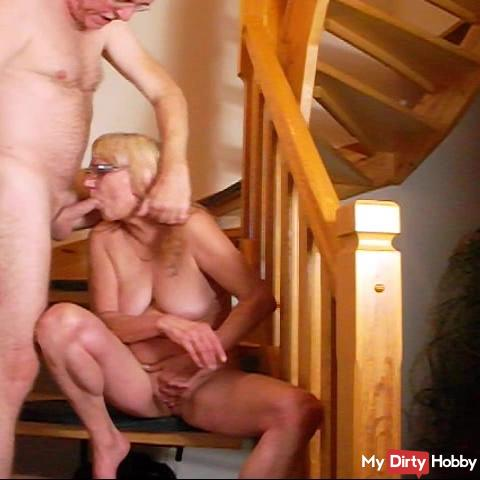Bea jerked in the mouth