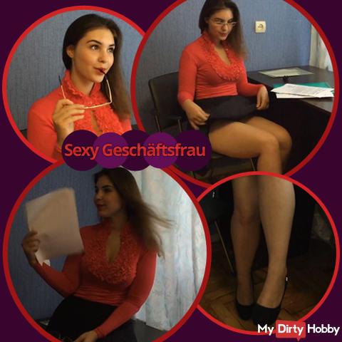Sexy businesswoman!