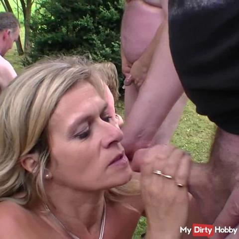 crass outdoor fuck in high seat