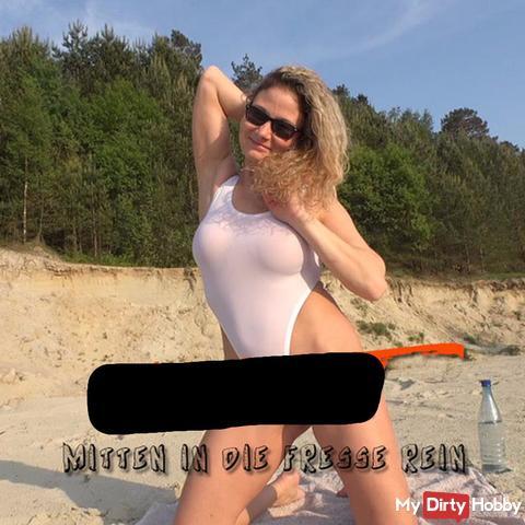Cum***t - Mitten in die Fresse rein