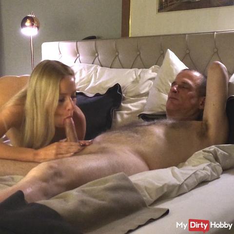 Blonde Teen Girl spoiled my cock