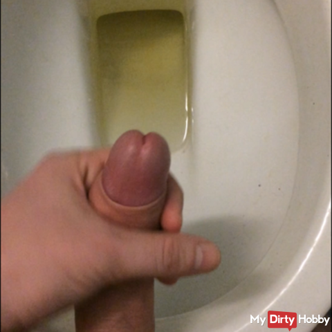 Only then piss spraying