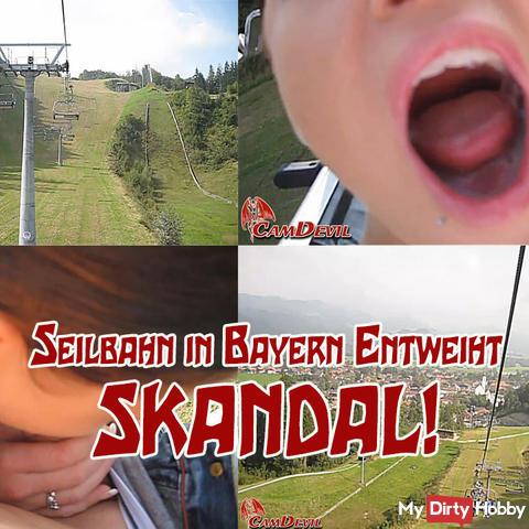 Scandal! funicular desecrated in Bavaria!