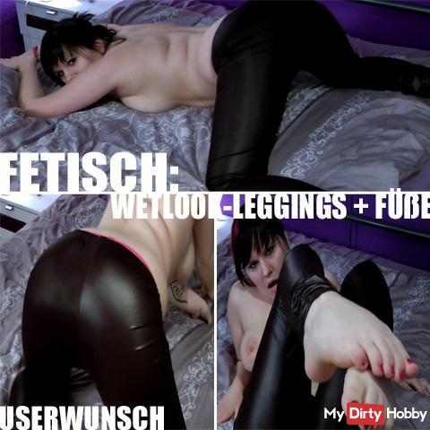 FETISCH: WETLOOK LEG. + FÜSSE