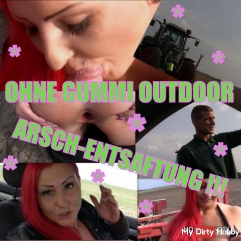 °AO °Bauernlümmel ANAL ENTSAFTET!Outdoor!