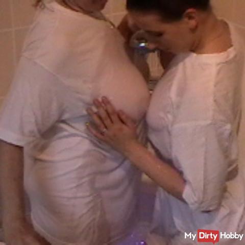 2 Bi-Girls-Wet T-Shirt