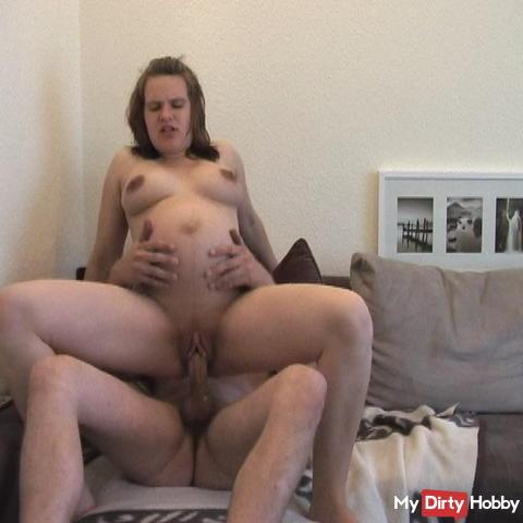 Preggy sex + + + +