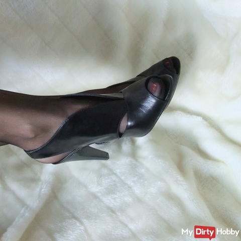 High Heels and nylons