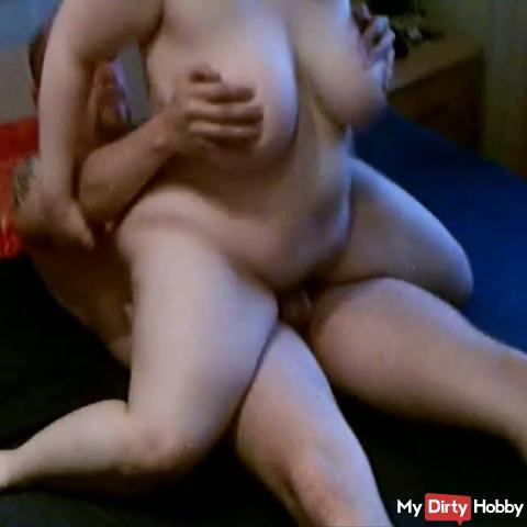 Dauerständer anal geritten