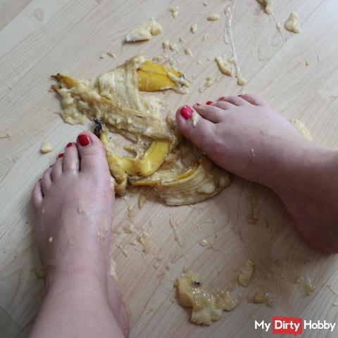 Bananen Crushing