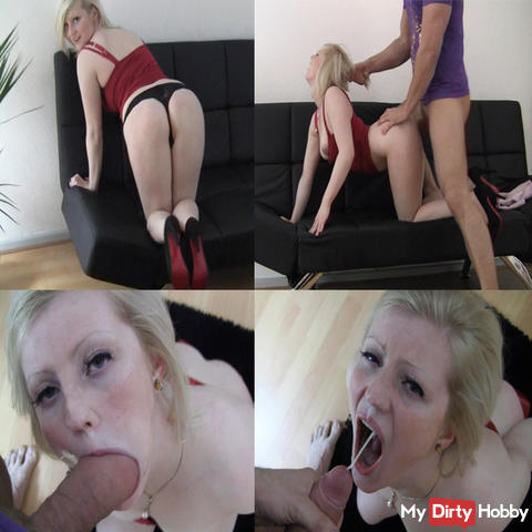 Bust blonde - Fucking instead of paying rent