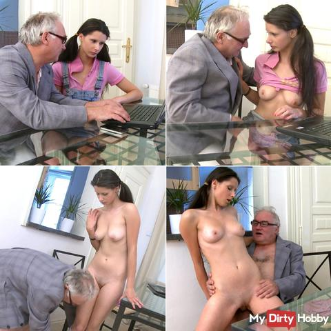 Young student fucked Mazy