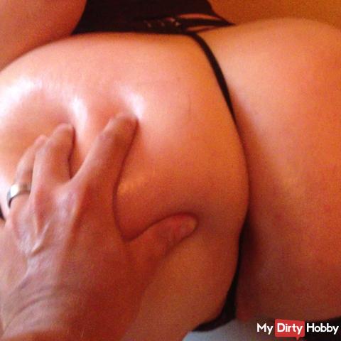 ass oil massege