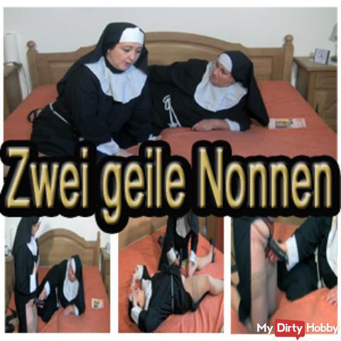 Two horny nuns