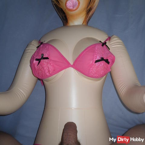 My fucking rubber doll