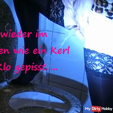 how a guy pissed in the toilet 2