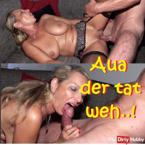 """AUA"" with thick cock fremdgefickt ..."