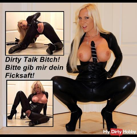 Leather Catsuit 2 The Dirty Talk Extrem !!