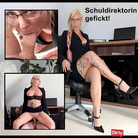 Stuffy headmistress fucked